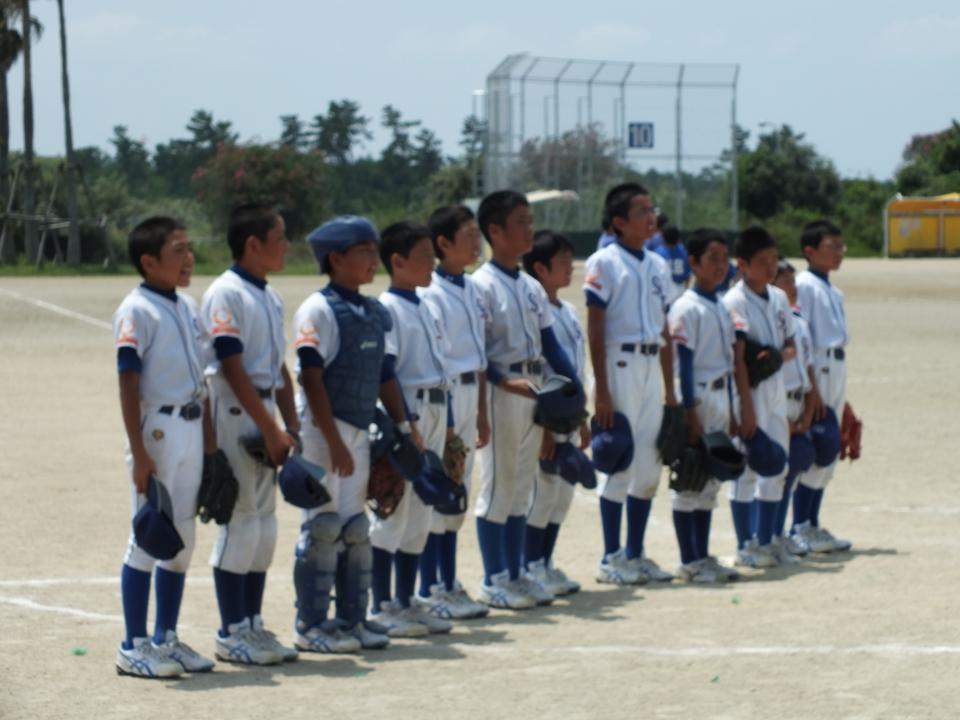 7/27 ガッツ田島少年野球団、和田ジュニアスターズ戦