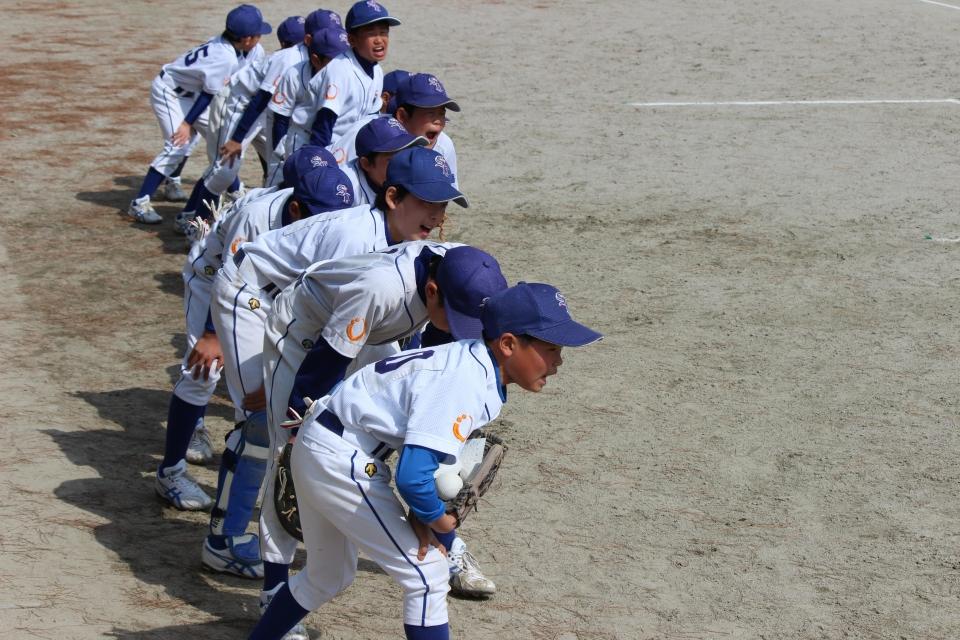 オープン戦(日の里少年野球さん)ギャラリー