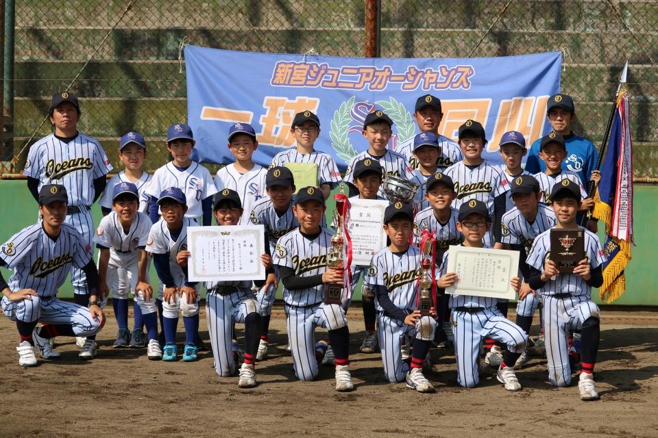 2019まどか少年野球大会ギャラリー